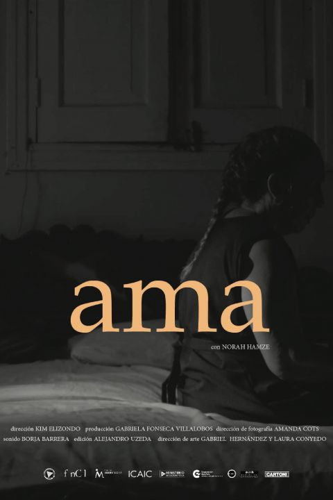 Afiche película Ama