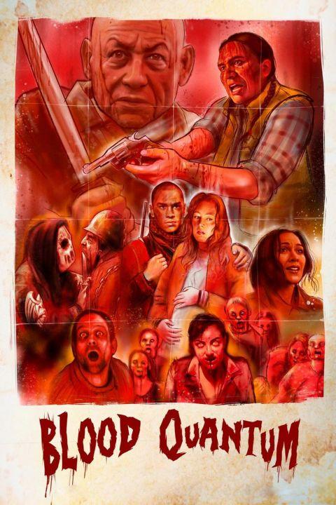 Afiche película Blood Quantum