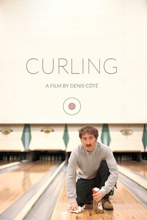 Afiche película Curling