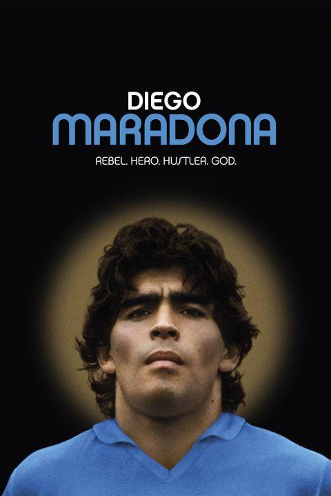 Afiche película Diego Maradona