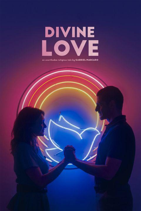 Afiche película Divino Amor