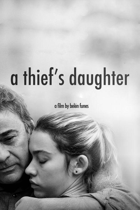 Afiche película La hija de un ladrón