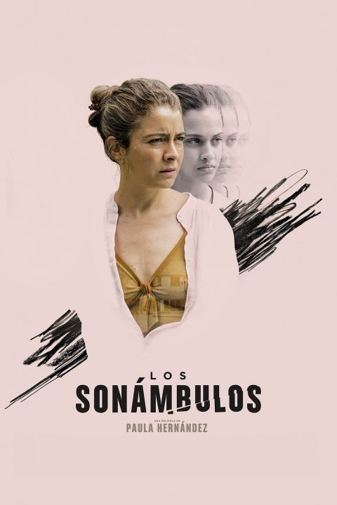 Afiche película Los sonámbulos