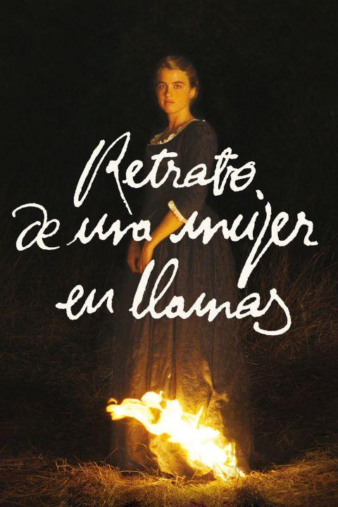 Afiche película Retrato de una mujer en llamas