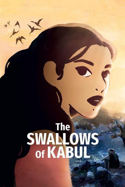 Afiche película The Swallows of Kabul