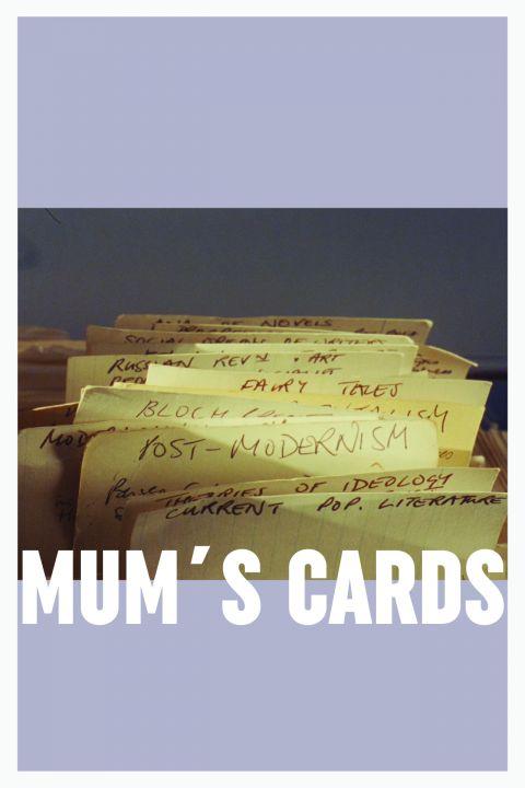 Afiche película Mum's Cards