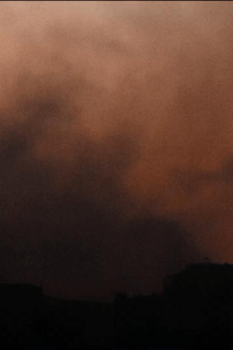 Still película El cielo está rojo