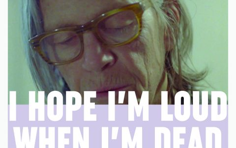 Afiche película I Hope I'm Loud When I'm Dead